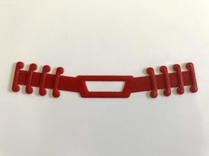 This Mask Strap is an Ear Savers for the healthcare workers. Easy to use, can be reuse a long time and clean with soap.